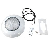 558 LED אור מנורת פונד מזרקות בריכת שחייה אור מתחת למים RGB 5 צבע עם שלט רחוק לבן