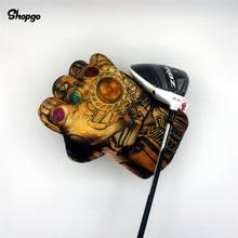 Вселенная камень Кулак Гольф Драйвер головной убор 460cc бокс дерево гольф клуб аксессуары Новинка отличный подарок