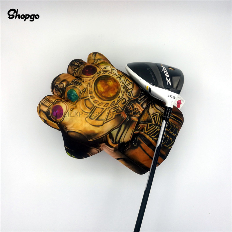 Universe Stone The Fist Golf Driver Headcover 460cc Boxing Wood Golf Cover Golf Club Accessories Novelty Great Gift