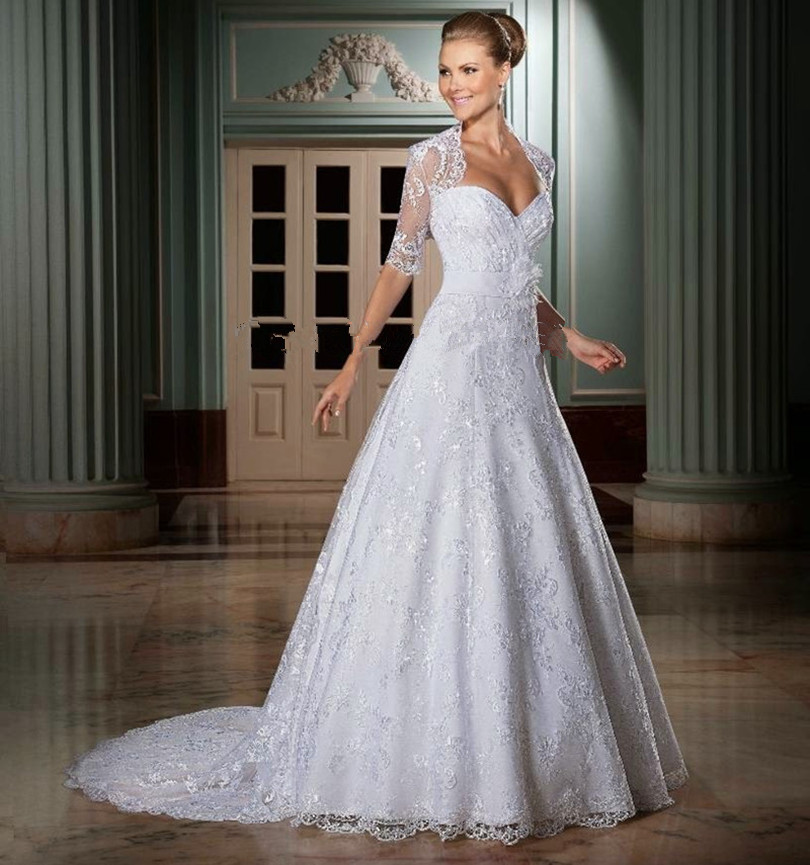 А-линии свадебные платья