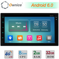 Octa 8 Core Android 6 0 2G RAM 32GB ROM BT 4G Car GPS 2Din Universal