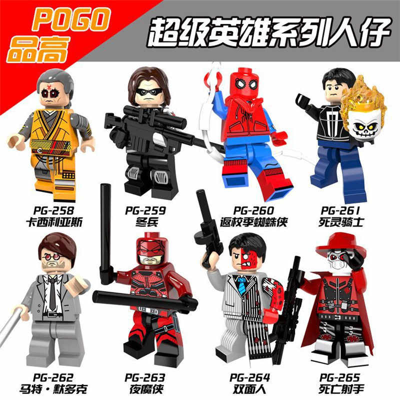 Legoings Figures Avengers Puzzle Building Blocks Figurines Toys For Children
