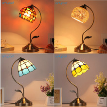 Artpad American Creative Turkish Style Dressing Decorative Table Lights E27 LED Vintage Desk Lamp For Women Bedroom Wedding Bar