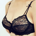 Vogue Secret Brand ultra-thin big cup sexy bra brief sets and panties transparent lace women bralette and underwear set Charms