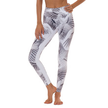 Wings Printed Leggings Yoga Pants Women Sports Tights Fitness Running Sexy Push Up Gym Trousers Elastic Slim Workout Leggings