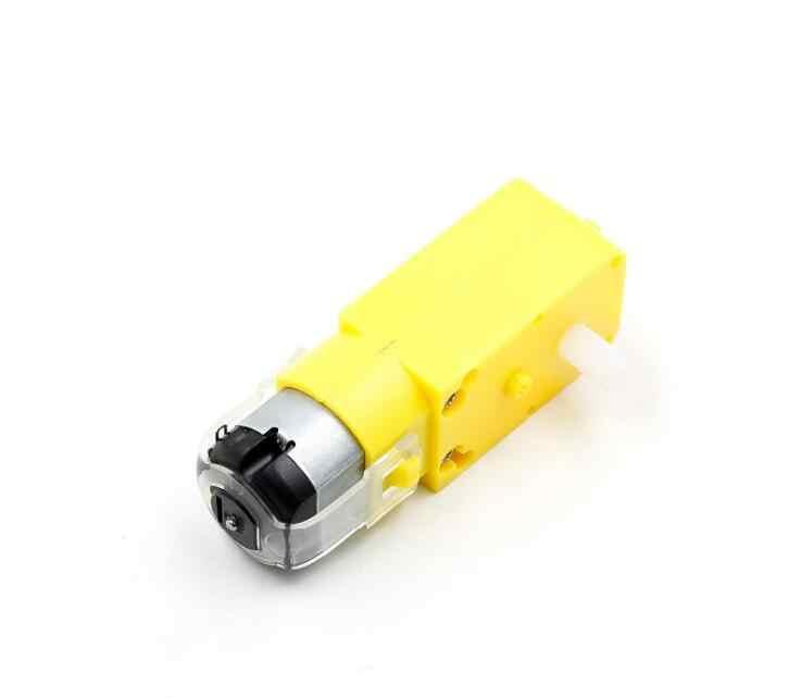 TT silnik samochód zdalnie sterowany motoreduktor dla arduino Diy zestaw koła podwozia silnik robota pilot zdalnego sterowania złącze