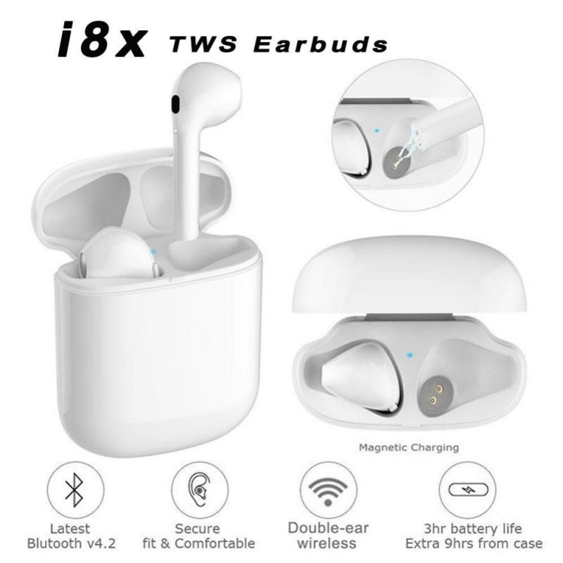 TWS I8X Wireless Bluetooth Earphone I8X Bluetooth Earphone