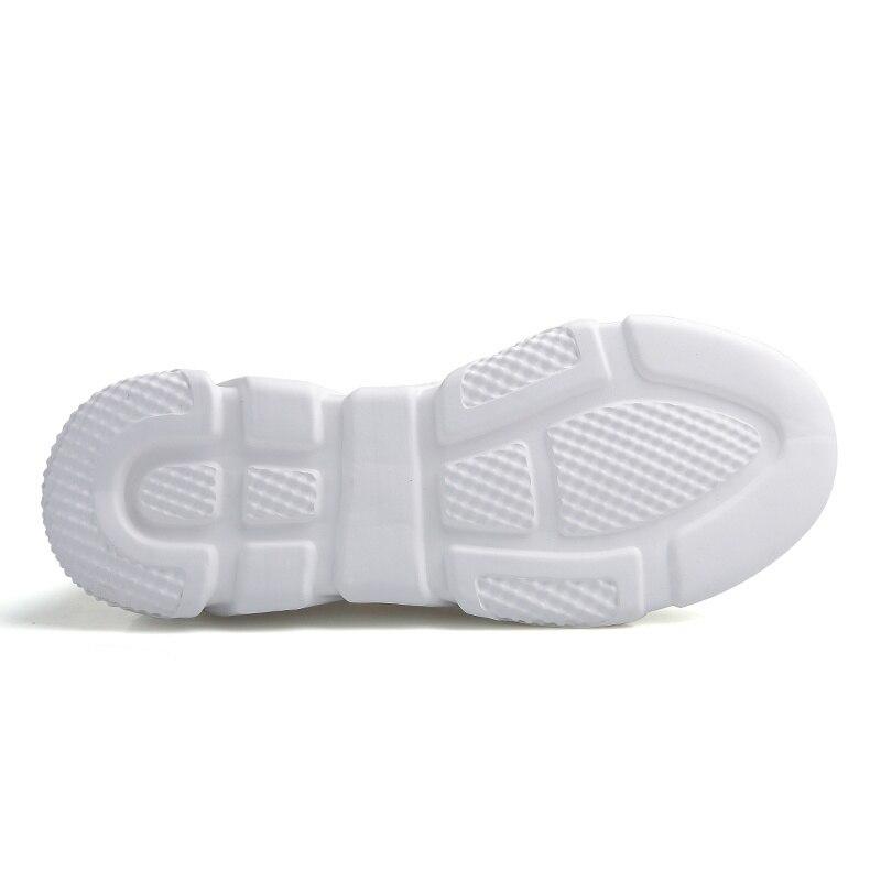 32b65db98 VIPBQO Primavera Outono Novos Modelos de Sapatos Masculinos 2018 tênis de malha  Ar Para O Sexo Masculino Macio Malha Respirável tênis de corrida Sapatos de  ...