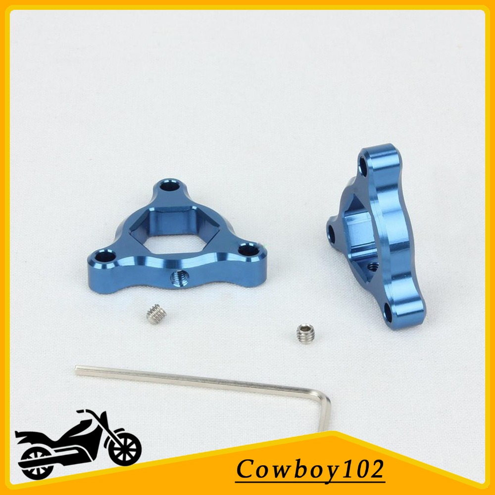 Preload Adjusters Parts Fork 17mm Blue for For Aprilia RS 250 1995 1996 1997 RSV Mille 2000 2001 2002 SL Falco 1000 image
