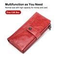 X. D. BOLO, новый женский кошелек, Длинные кошельки, клатч, кошельки, женский модный кошелек для телефона, держатель для карт, сумки для денег, кож...