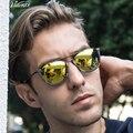 Роскошные Vogue Модные Солнцезащитные Очки Ручной Работы Классической Polaroid поляризованных солнцезащитных очков Марка дизайнер Желтые линзы индивидуальные Рыбная Ловля