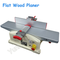Flat Woodworking Planer Home Wood Bench Planer High Speed Wood Planer Copper Motor JJP 5015 220V