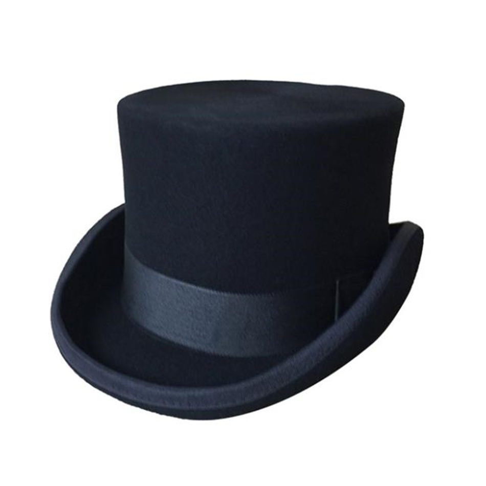 Denton Hats Fashion Top Hat Red