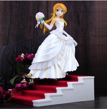 Ore No Imouto vestido de boda mi hermana pequeña No puede ser esta figura de acción coleccionable Linda juguetes de PVC para regalo de Navidad