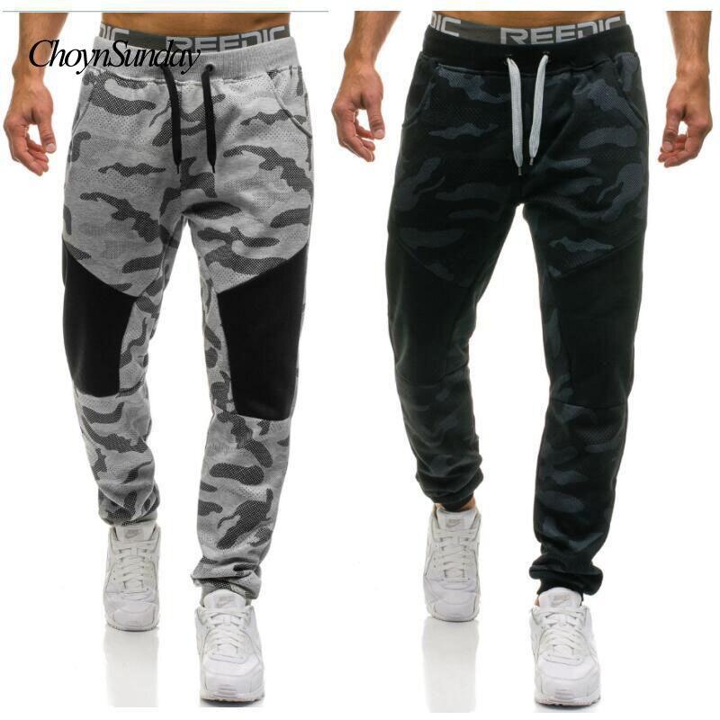 2018 Marke Mann Choynsunday Männer Tragen Camouflage Hose Männer Casual Hosen Männer Hosen Camouflage Hosen Stil Streetwear