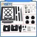 Aluminium Legierung Rahmen Y Wagen Vorne Platte + Aluminium Profil Glatte Stangen Kit + U-schrauben LM8UU + Drivegear kit Für Prusa i3 MK3