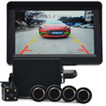 4.3 inch Monitor Car Parking Sensor Reverse Backup Assistance Car HD Visual Reversing Radar all-in-one System