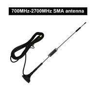 אנטנה עבור לוסיה 1PC 700MHz-2700MHz אנטנה SMA מחט 2G, 3G, אנטנה היניקה 4G עבור HackRF אחת G7-005 (3)