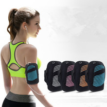 Pouch Arm-Bag Cycling Waterproof Hiking Outdoor Sports Running Unisex 1pcs Multifunctional