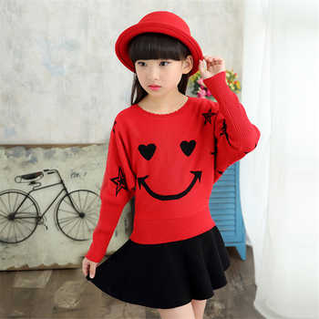 2019 Children's sweater Winter New Girls Sweater Cotton Clothing  Sweater  Hedging Round collar Bat sleeve Children's clothing - DISCOUNT ITEM  0% OFF All Category