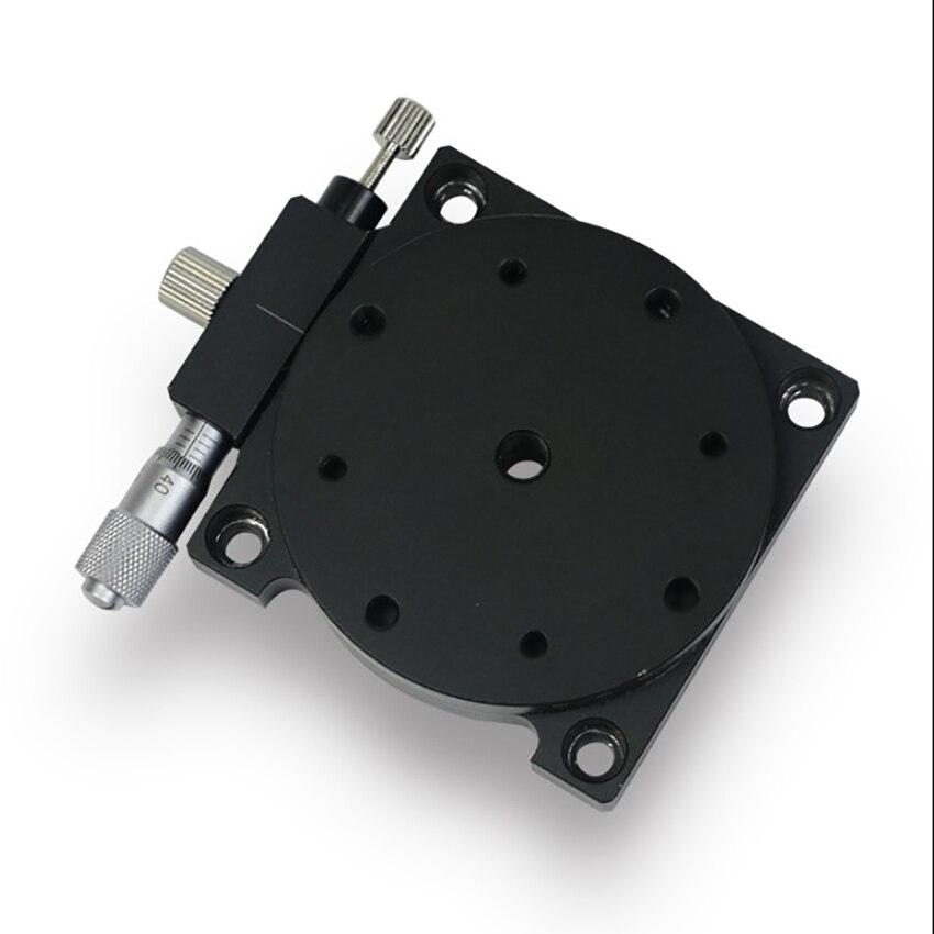 Plate-forme de positionnement linéaire manuelle Table coulissante palier de précision palier linéaire réglage de l'axe R 40mm x 40mm/60mm x 60mm