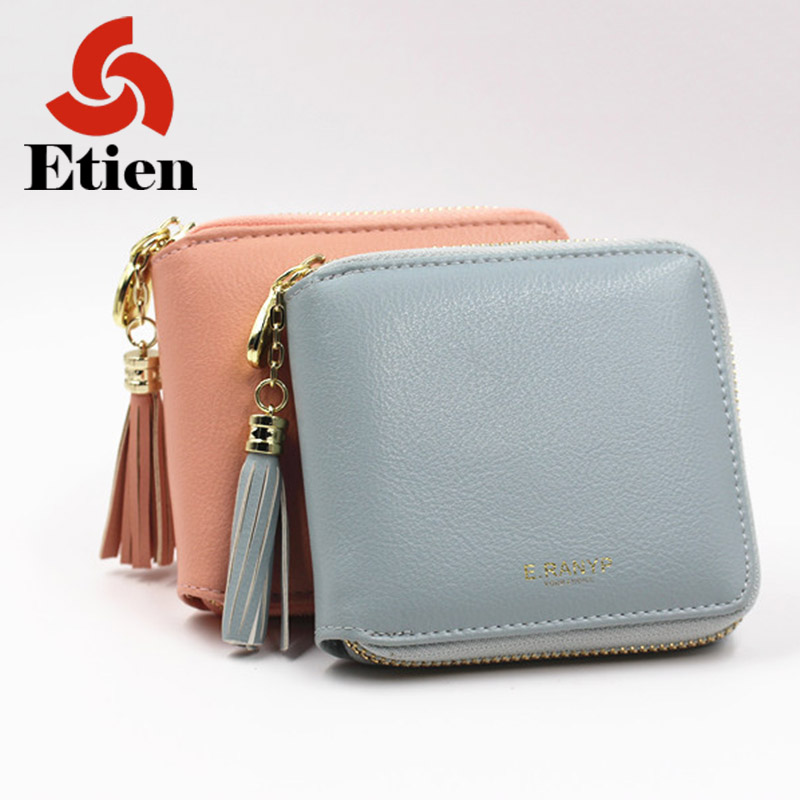 Fashion women mini wallet small clutch female purse coin Billeteras mujer Cartera Portefeuille Femme cuzdan PU leather short 2017 genuine cowhide leather brand women wallet short design lady small coin purse mini clutch cartera high quality