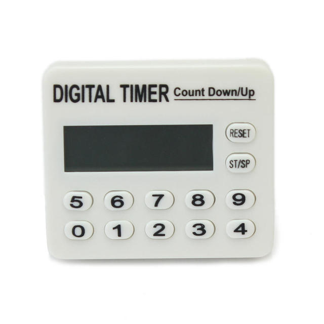 digital kitchen timers pedestal table lcd display timer count down up alarm clock countdown food meat egg cooking accessories with stand