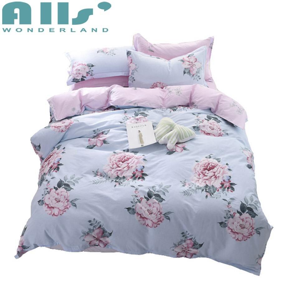100% algodón Ropa de cama flamingos impreso encantador y cómodo ...