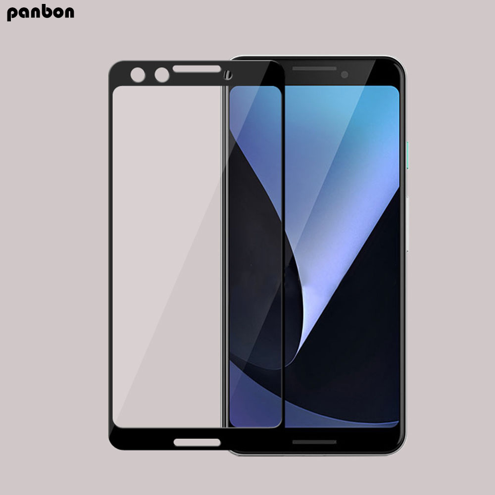 Full screen 9H Tempered Glass For google pixel 3 XL Glass Full Cover Anti-scratch Screen Protector Pixel 2 xl Protective Film
