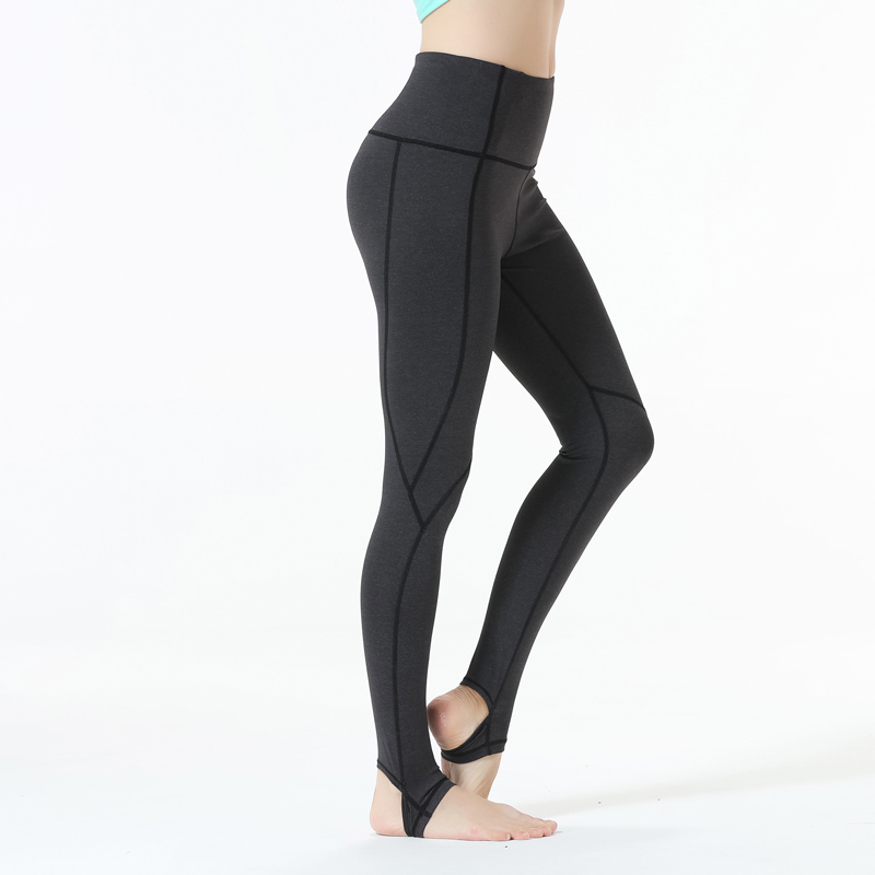 f27f0ccbcf8397 Eagle Rock Yoga Step on foot Fit Sport Pants Elastic Fitness Gym Pants  Workout Running Tight Sport Female Trousers-in Yoga Pants from Sports &  Entertainment ...