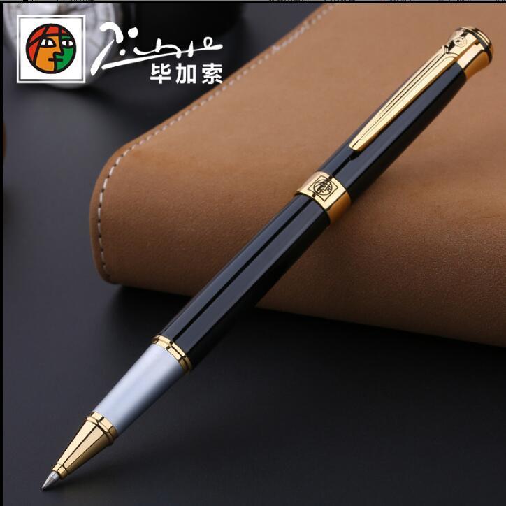 picasso marca rolo bola caneta papelaria escola material de escritorio luxo escrita presente aniversario canetas