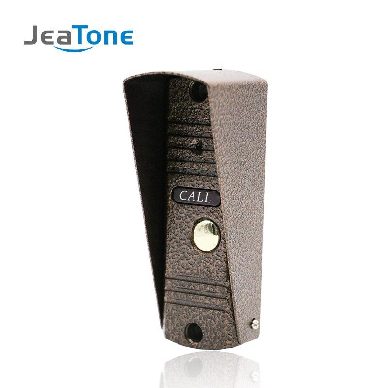 Porte Téléphone Interphone de Sécurité À Domicile Vidéo Interphone Appartement sonnette vidéo IR Vision Nocturne En Plein Air Panneau D'appel