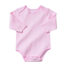 YiErYing Newborn Rompers Clothes Autumn Winter 100% Cotton Long Sleeve Pure Color Baby Boys Girls Jumpsuits