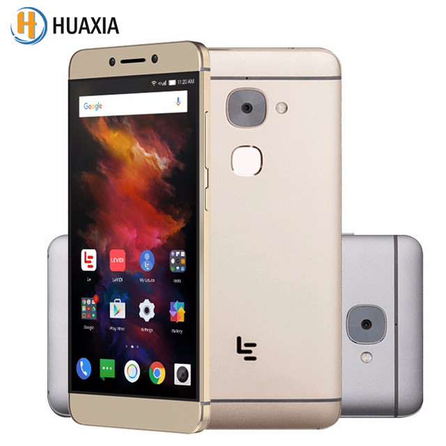 LeEco Le S3 Deca Core 5.5 inch 3GB/4GB RAM 32GB ROM Android 6.0 Letv 4G LTE Fingerprint 3000mAh 16.0MP Helio X20 Mobile Phone