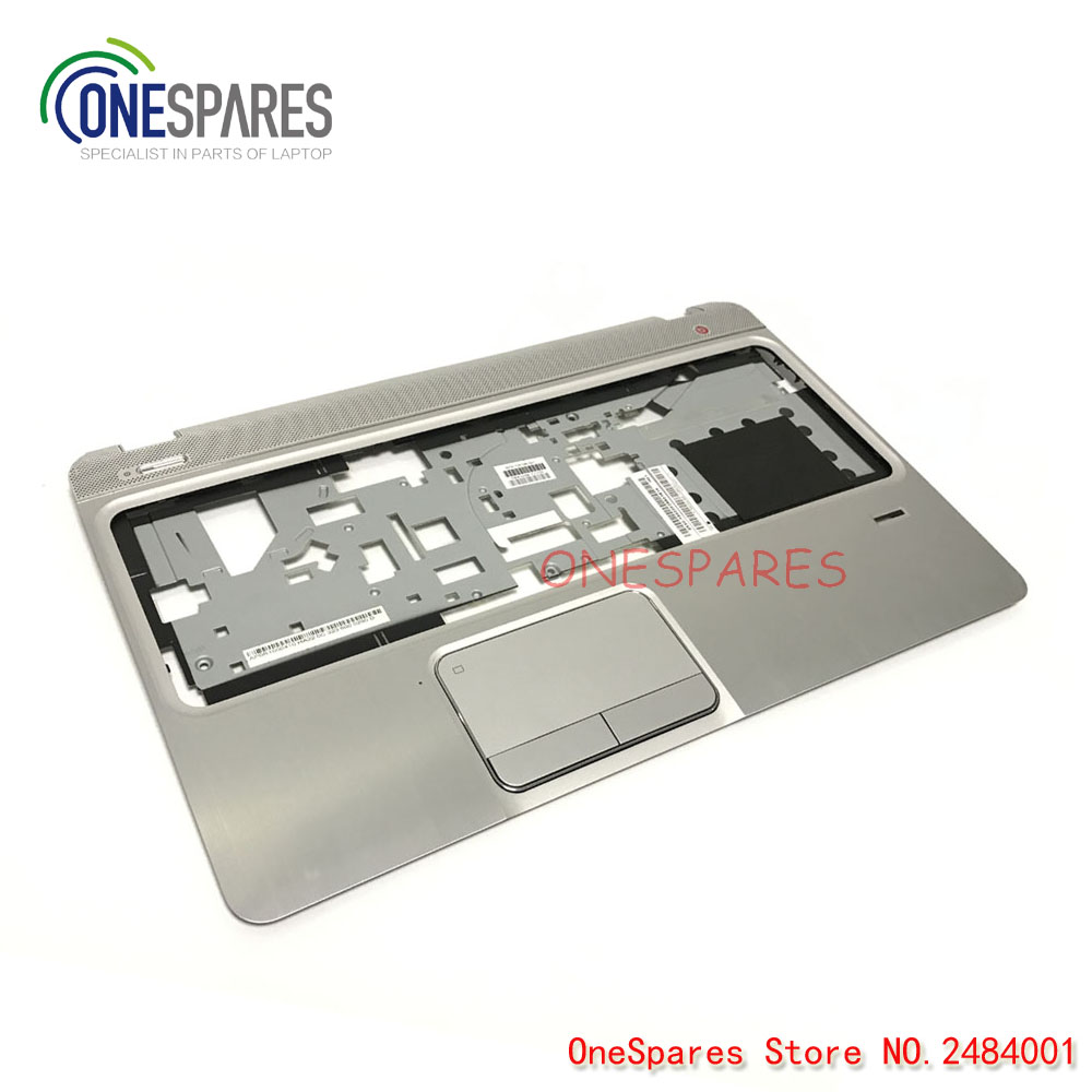 NEW Original Laptop Palmrest Touchpad TOP Cover For HP envy M6 M6-1000 M6-1125dx M6-1035dx M6-1009DX Series Silver 705196-001 ca bm001 bk new motorcycle cnc billet rear axle spindle chain adjuster blocks for bmw hp4 2012 2014 s1000r 2013 2015 s1000rr 09