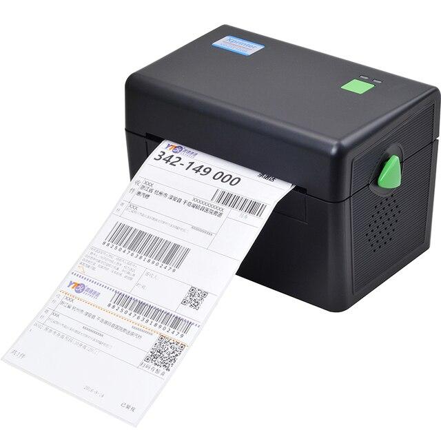 Новое поступление XP-DT108B 108 мм максимальная ширина qr-код наклейка принтер термоэтикетки принтер штрих-кода Экспресс доставка принтер этикеток