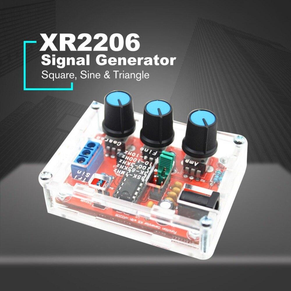 XR2206 Sintetizador de Freqüência dds Função Gerador de Sinal Gerador de Sinal Senoidal Pwm Gerador de Pulso Ajustável Módulo DIY