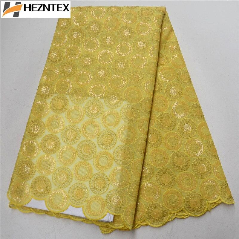 Tissu africain citron vert dentelle 2019 paillettes nigérianes lacets tissu de haute qualité français Organza dentelle tissu pour robe PSA460 1-in Dentelle from Maison & Animalerie    3