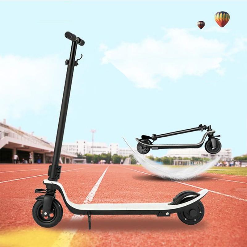 6 pouces mini scooter électrique 24 V 36 V 48 V deux roues coup de pied scooter adulte enfants électrique planche à roulettes moteur scooterélectrique vol stationnaire