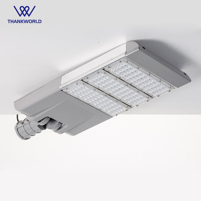 150w Street Light Fixtures Led Parking Lot Aluminium Road Lamp Ip65 Waterproof Outdoor Lighting Bridgelux