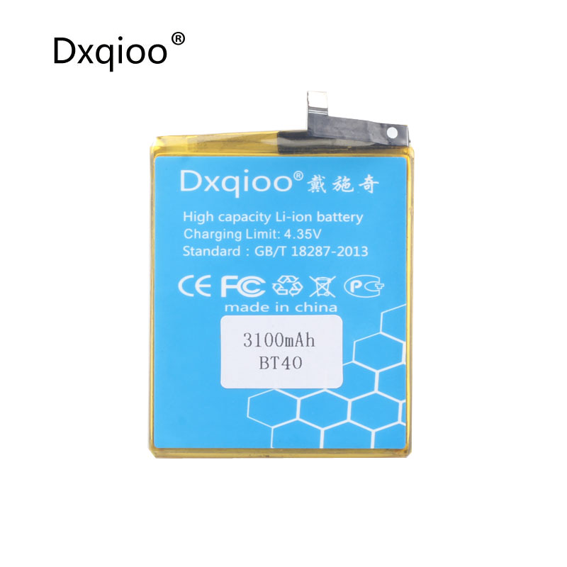 Dxqioo The built in mobile phone battery 3100mah fit for meizu mx4 BT40 M460 M461 batteries