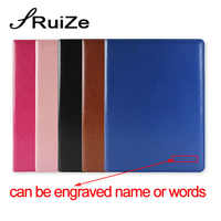 RuiZe Multifunction office file folder A4 leather folder padfolio organizer contract signing folder with calculator and notepad