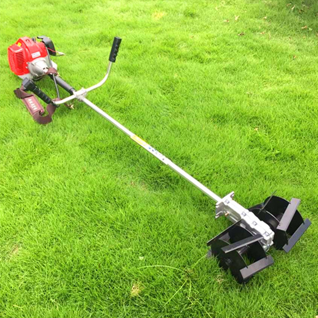 grass cutter 52cc brush cutter grass trimmer lawn mower cropper garden cultivator agricultural tiller tool - Garden Cultivator