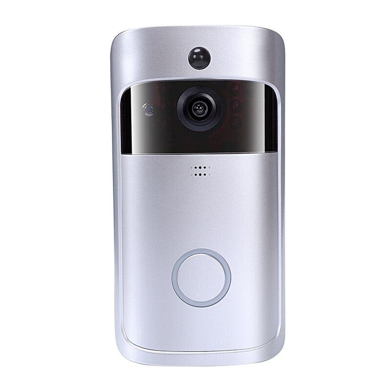 Wireless Wifi Video Doorbell Camera Ip 720P Ring Doorbell Video Intercom Two Way Audio App Control Infrared