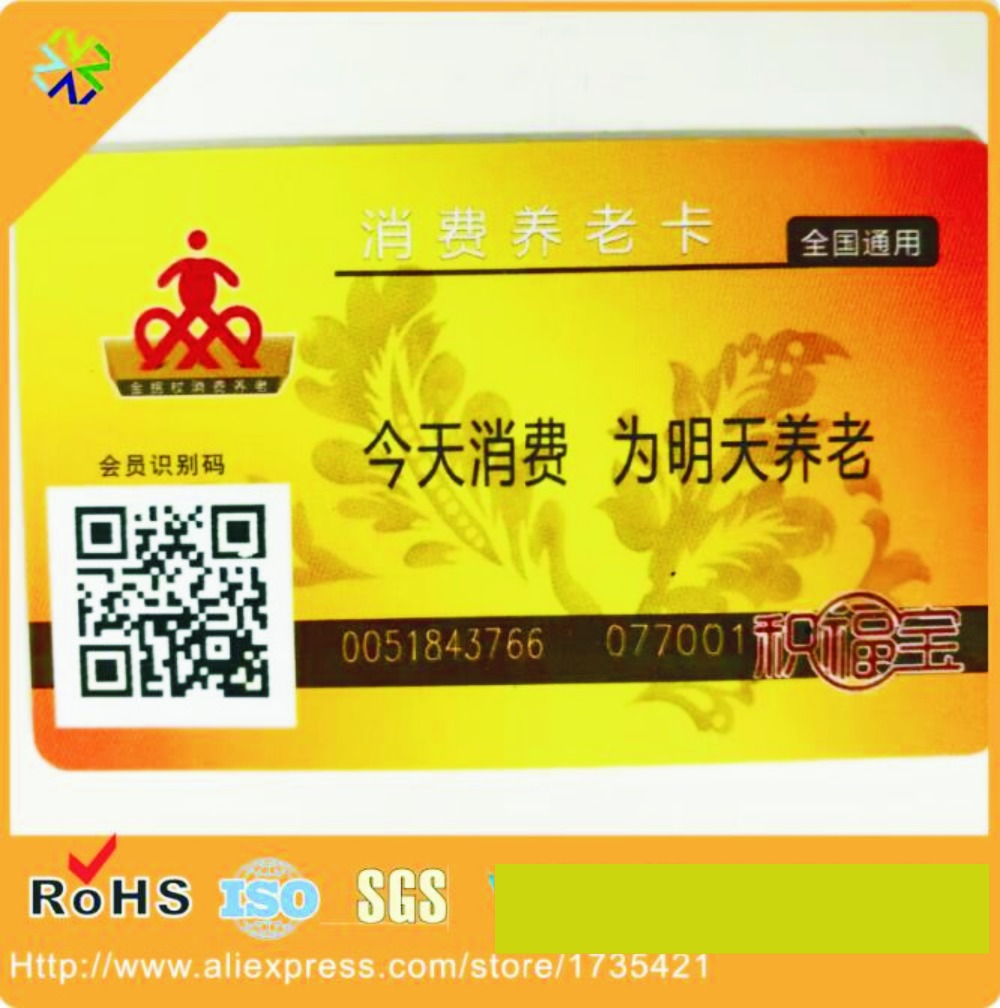 Directly Factory CMYK Printing CR80 Plastic Pvc Name Card