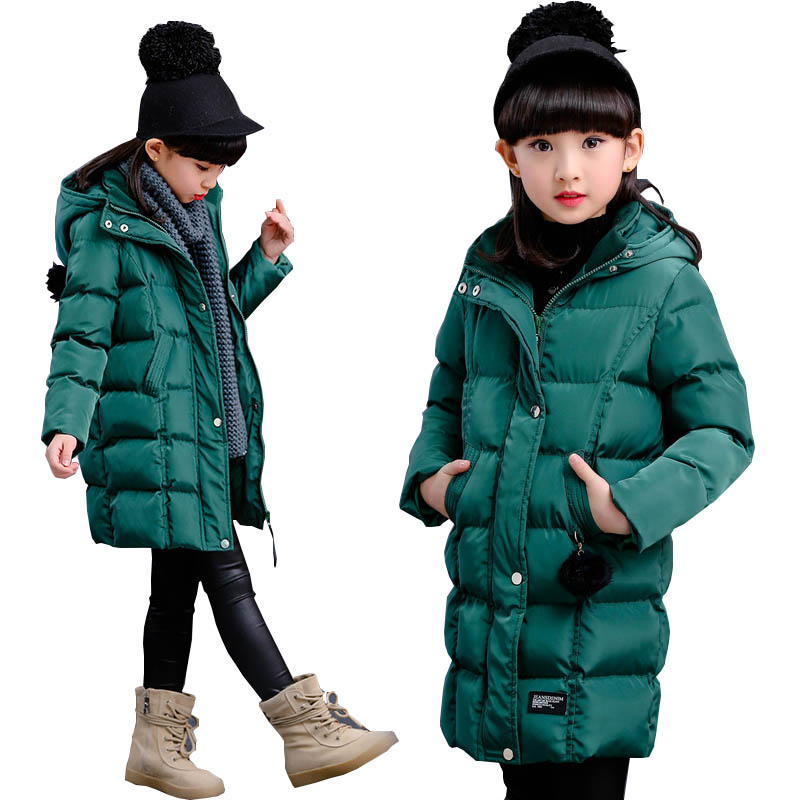 Girls winter coat thicken girls clothes children clothing down parkas jacket kids clothes cotton-padded jacket kids' Outerwear children winter coats jacket baby boys warm outerwear thickening outdoors kids snow proof coat parkas cotton padded clothes