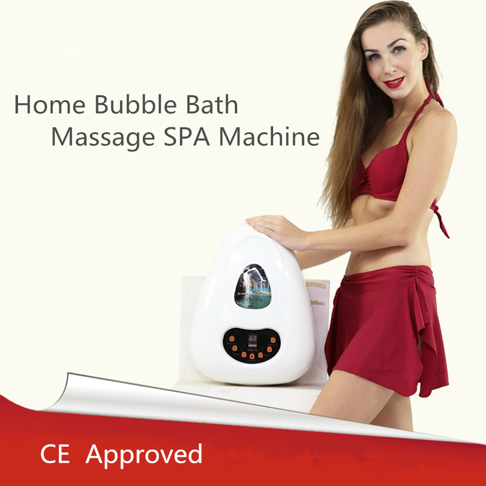 Body Massager Air Bubble Bath Tub Ozone Sterilization Body Spa EnjoyTranquil Blissful Bath Portable Spa Relaxing Device Skin in Sanitary Ware Suite from Home Improvement