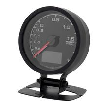 VODOOL 1pc 62mm 7 Light Colors LCD Display Car Styling Auto Turbo Boost Gauge with Voltage Meter for Universal Car Accessories