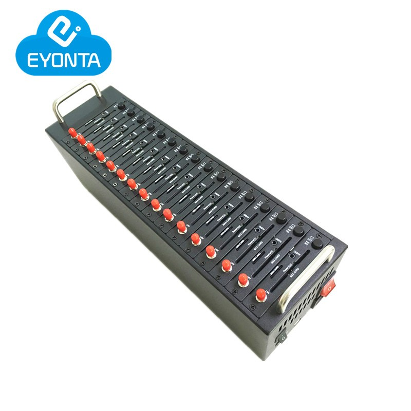 Bulk sms USB gsm gprs modem Wavecom q2406b gsm modem 16 port gsm sim pool ussd stk mobile recharge ...