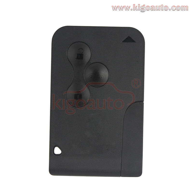 Key card 434Mhz pcf7947 chip 3 button for Renault Megane smart remote kigoauto